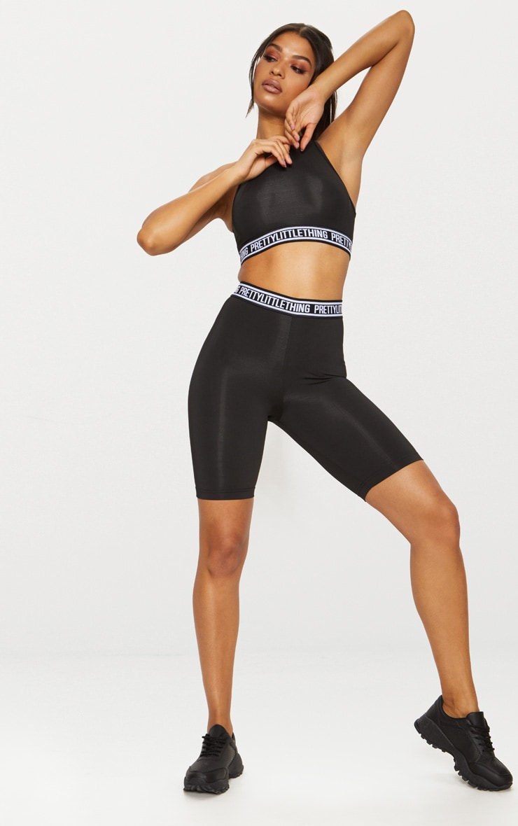 PLT Sport - Short-legging active noir 6
