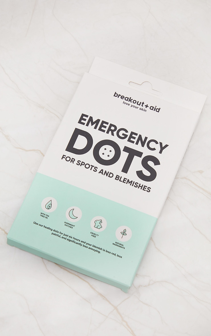 Breakout Aid Dots For Spots Tea Tree Infused Acne Dots 48 Pack 1