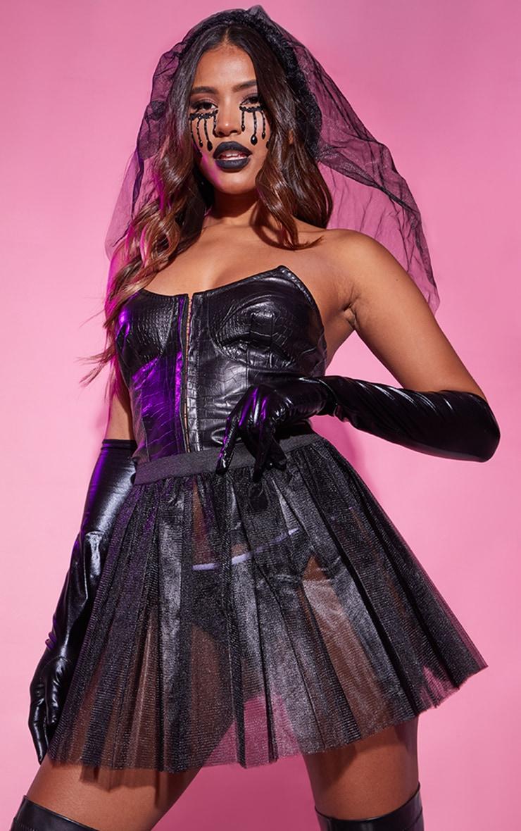 Black Basic TuTu Skirt 1