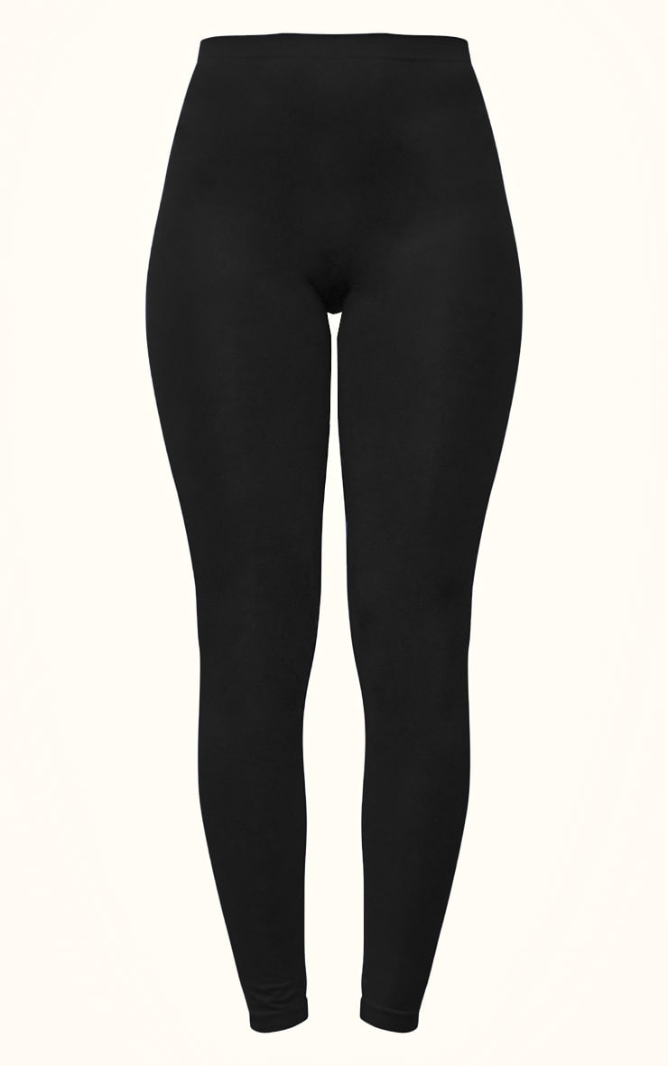 Black Seamless Leggings 5
