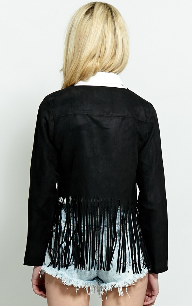 Sharn Black Tassel Jacket 2