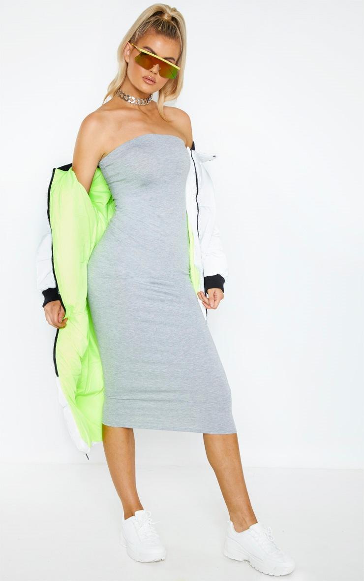 Tall Bandeau Jersey Midi Dress  3