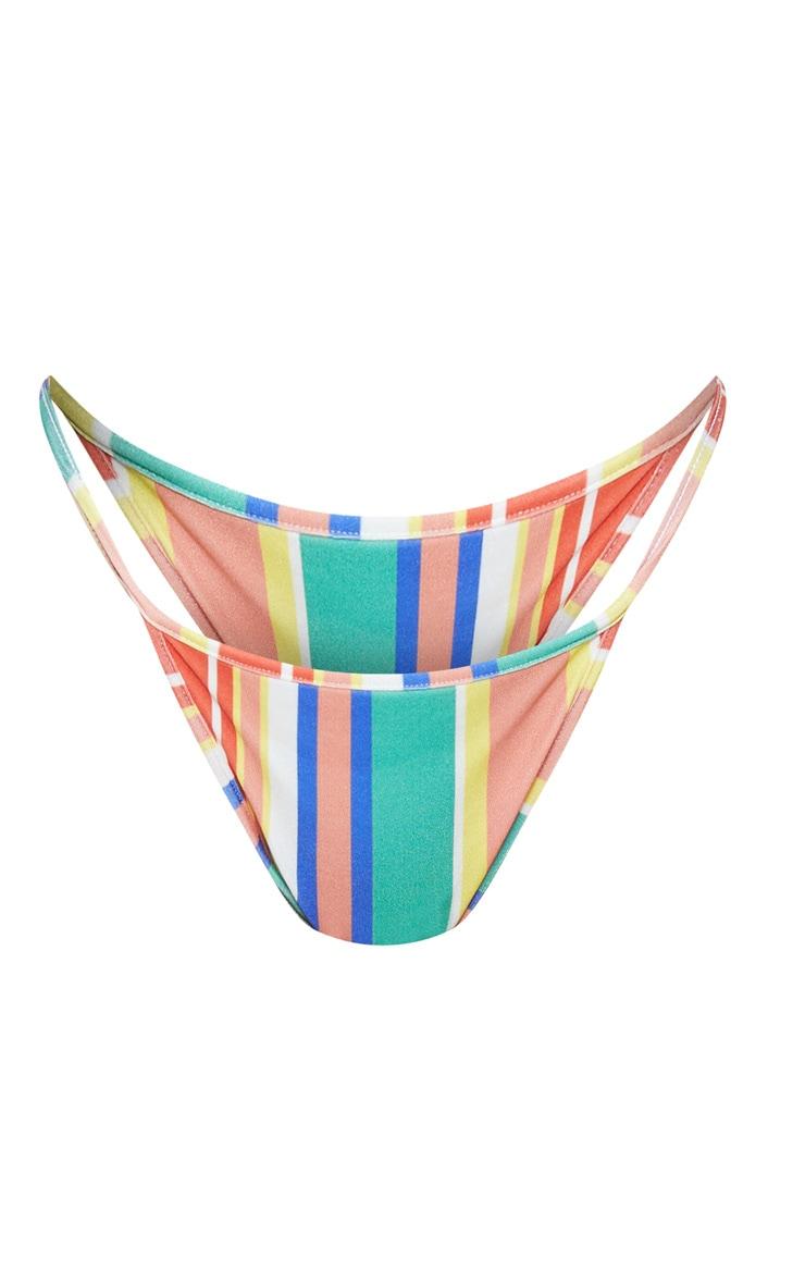 Multi Stripe Mix & Match Itsy Bitsy Bikini Bottom 3