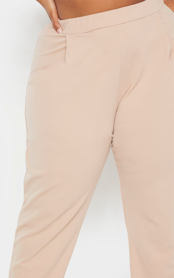 Plus Stone High Waist Tapered Trouser  4