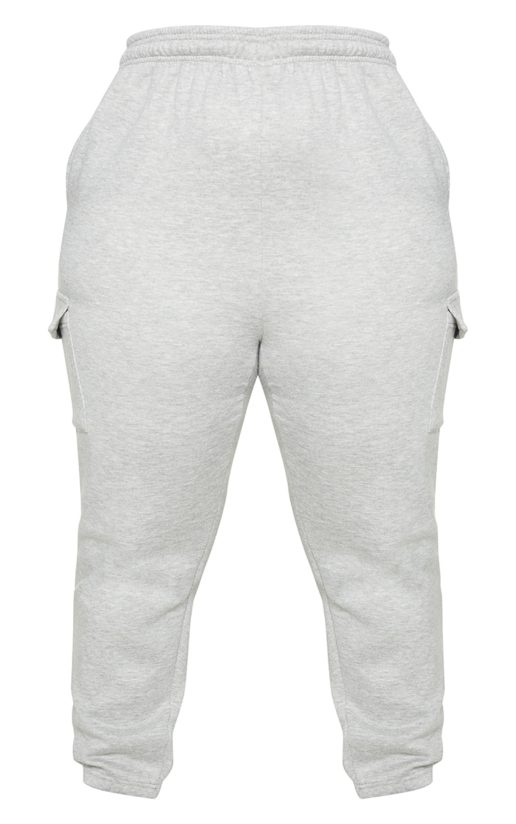 Plus Grey Pocket Detail Joggers 5