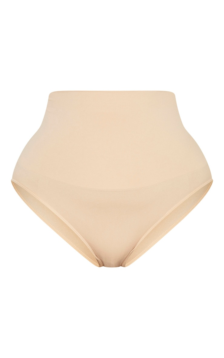 Plus Nude Seamless High Waist Control Shapewear Brief 3