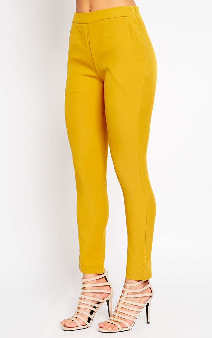 Kit Mustard Trousers 3