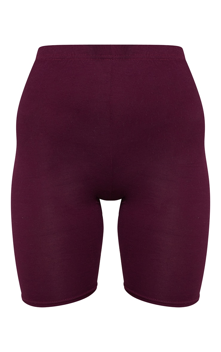 Maroon Basic Cycle Shorts 6