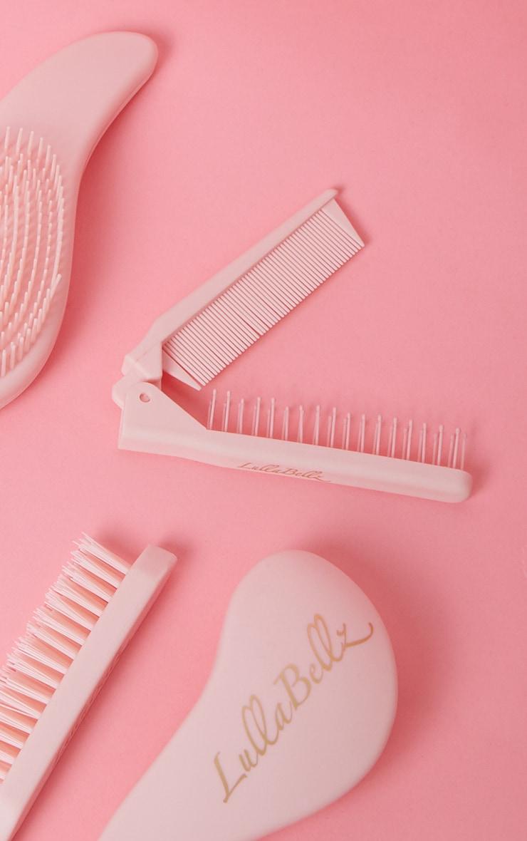 Lullabellz 2-In-1 Folding Comb & Brush 3