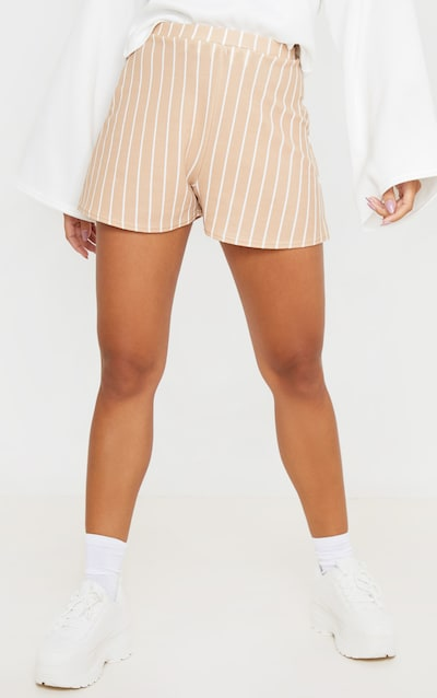 Stone Stripe Floaty Crepe Short