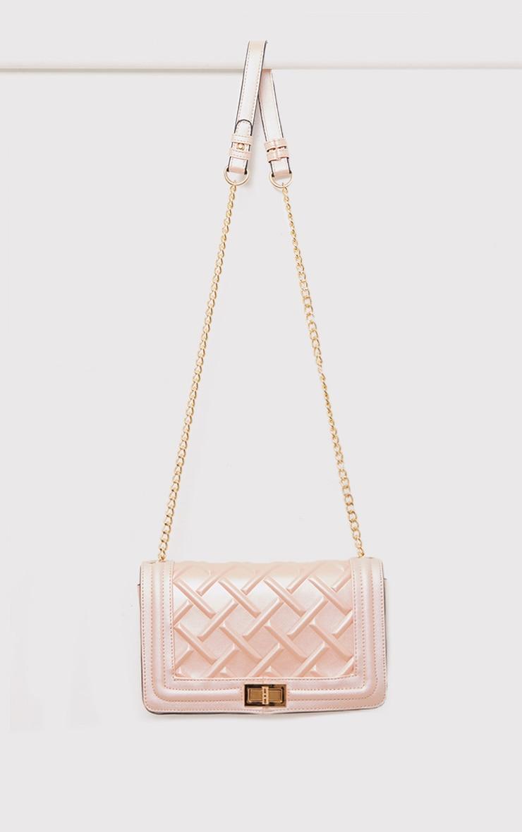 Cindy Rose Gold Chain Strap Shoulder Bag 5