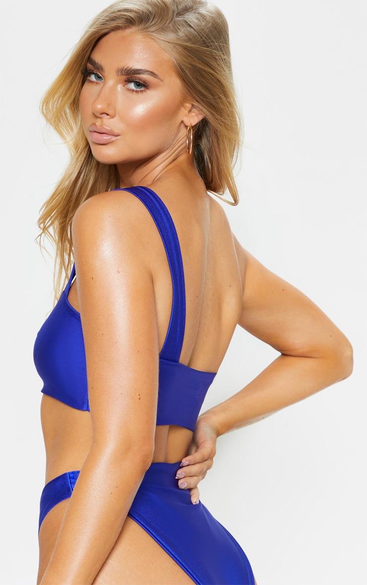 Cobalt Cut Out Double Strap Swimsuit 2