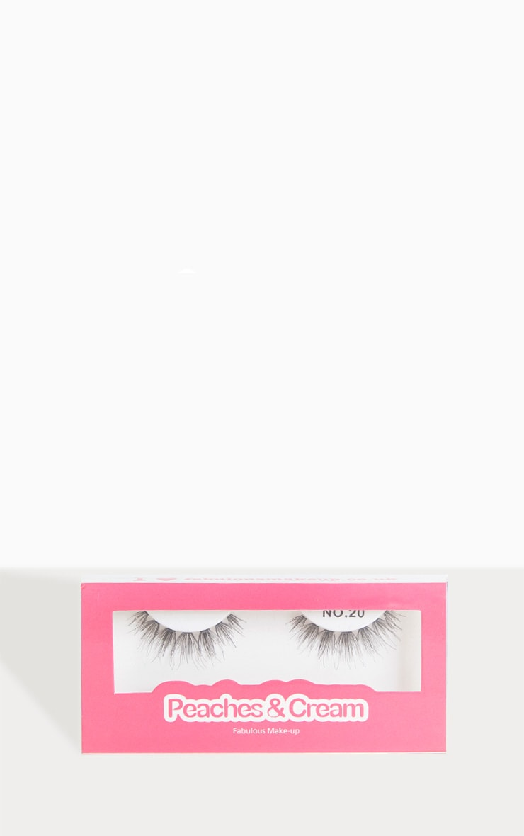 Peaches & Cream NO 20 False Eyelashes 1
