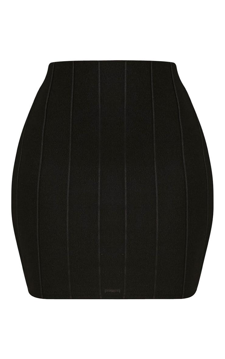 Miriam Black Bandage Mini Skirt 3