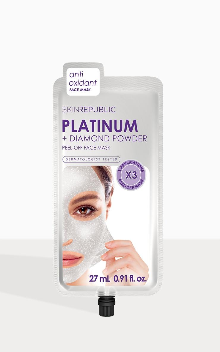 Skin Republic Platinum Peel-Off Face Mask 27ml 1