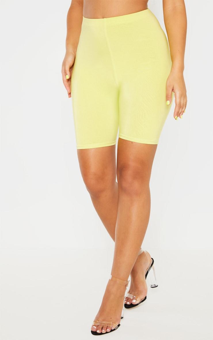 Short-legging long vert citron clair Mix & Match  2