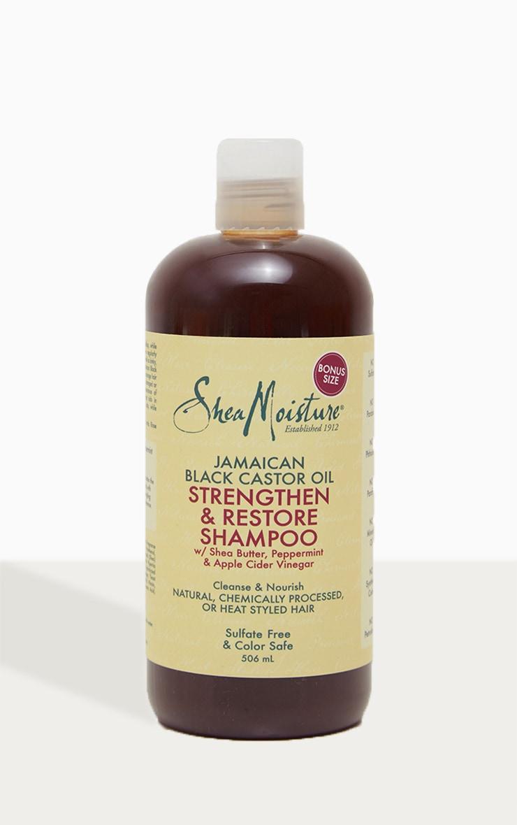 Shea Moisture Jamaican Black Castor Oil Strengthen & Restore Shampoo 4