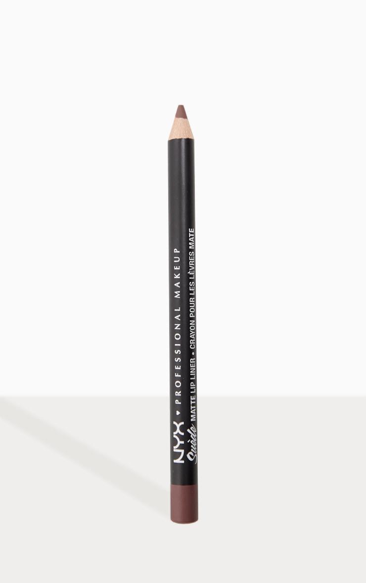 NYX Professional Makeup Suede Matte Lip Liner Moonwalk 1