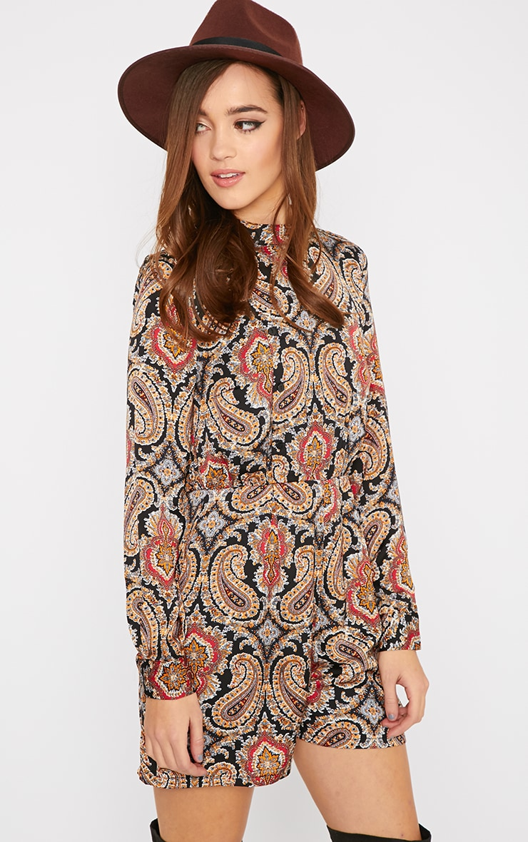 Esther Paisley Print Playsuit  3