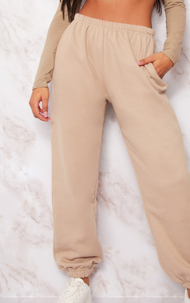 Taupe Casual Track Pants 6