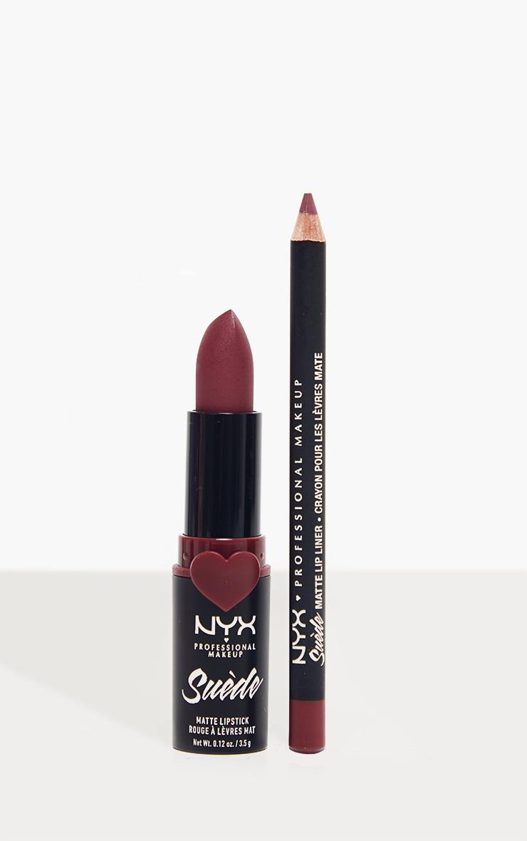 NYX PMU Disco Mix Lip Kit - Girl Bye Purple Matte Lip Christmas Giftset 1