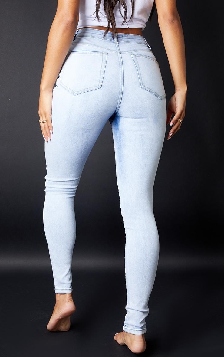 PRETTYLITTLETHING - Jean skinny javelisé à 5 poches 3