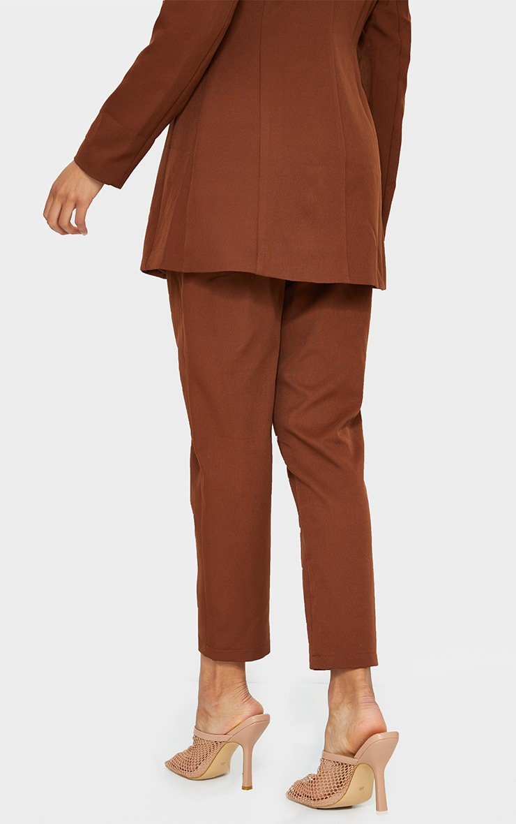 Chocolate Brown Cropped Pants 2