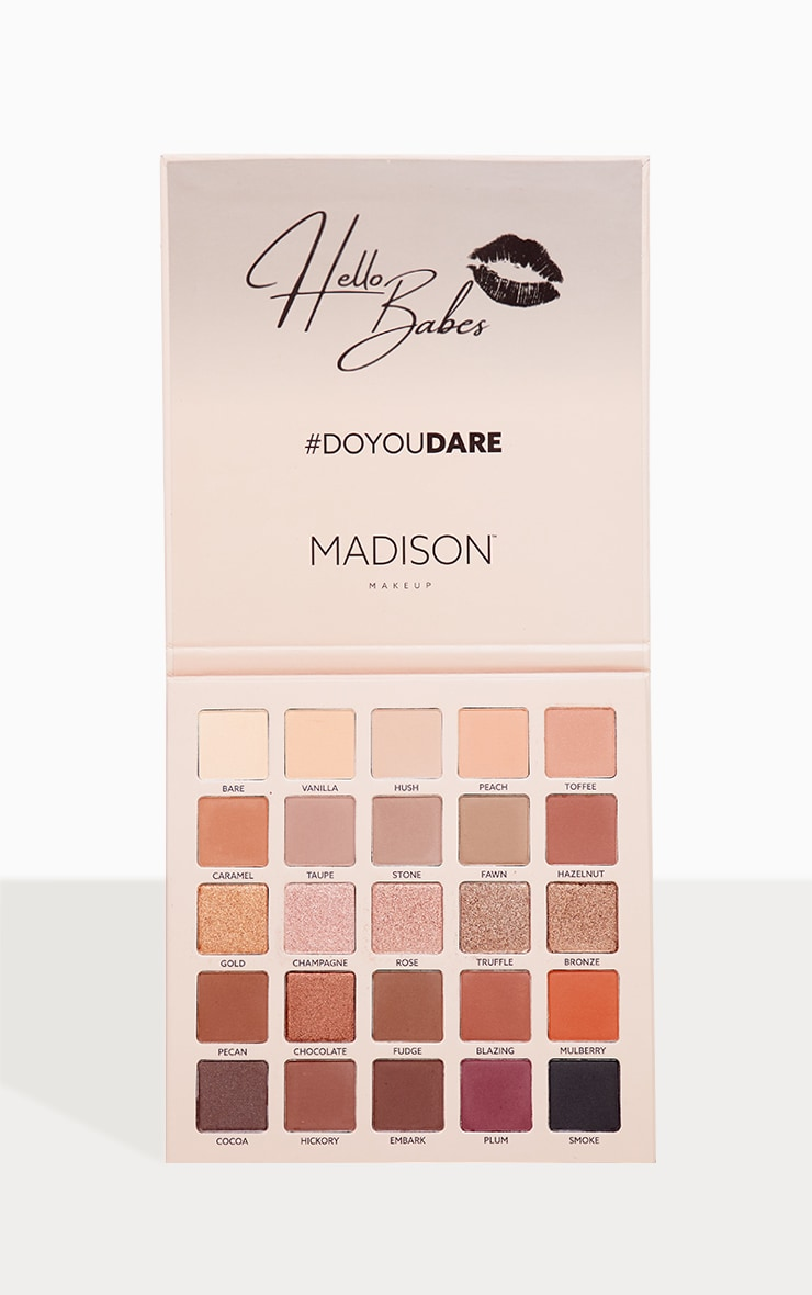 Madison Dare To Blend Palette X Amysmakeupbox 2