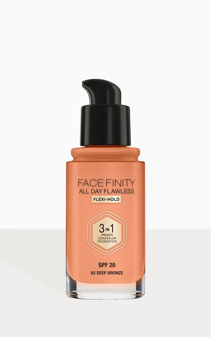 Max Factor Facefinity All Day Flawless Foundation Deep Bronze 3