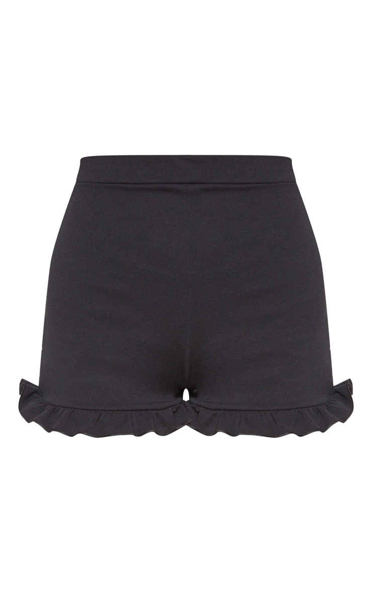 Black Frill Shorts 3