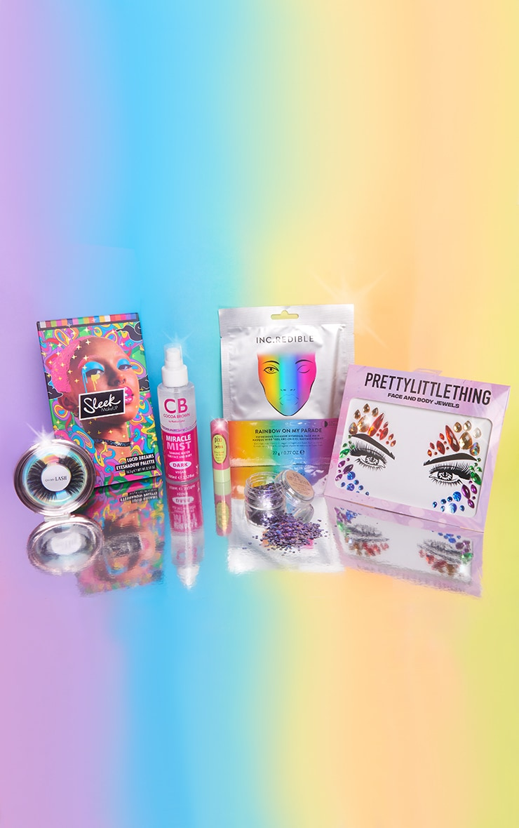 PRETTYLITTLETHING Pride Beauty Bundle (Worth £52.00) 2