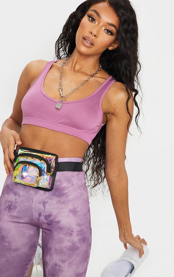 Iridescent Mini Bum Bag 1