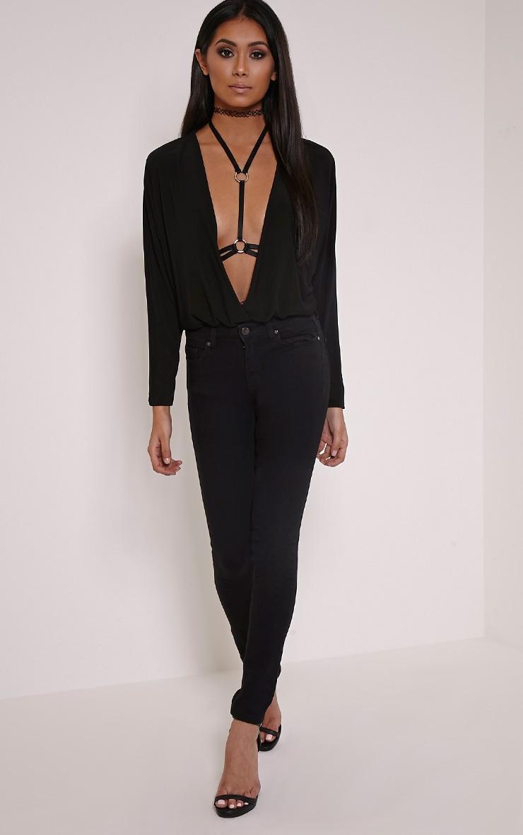 Skylah Black Body Harness 2