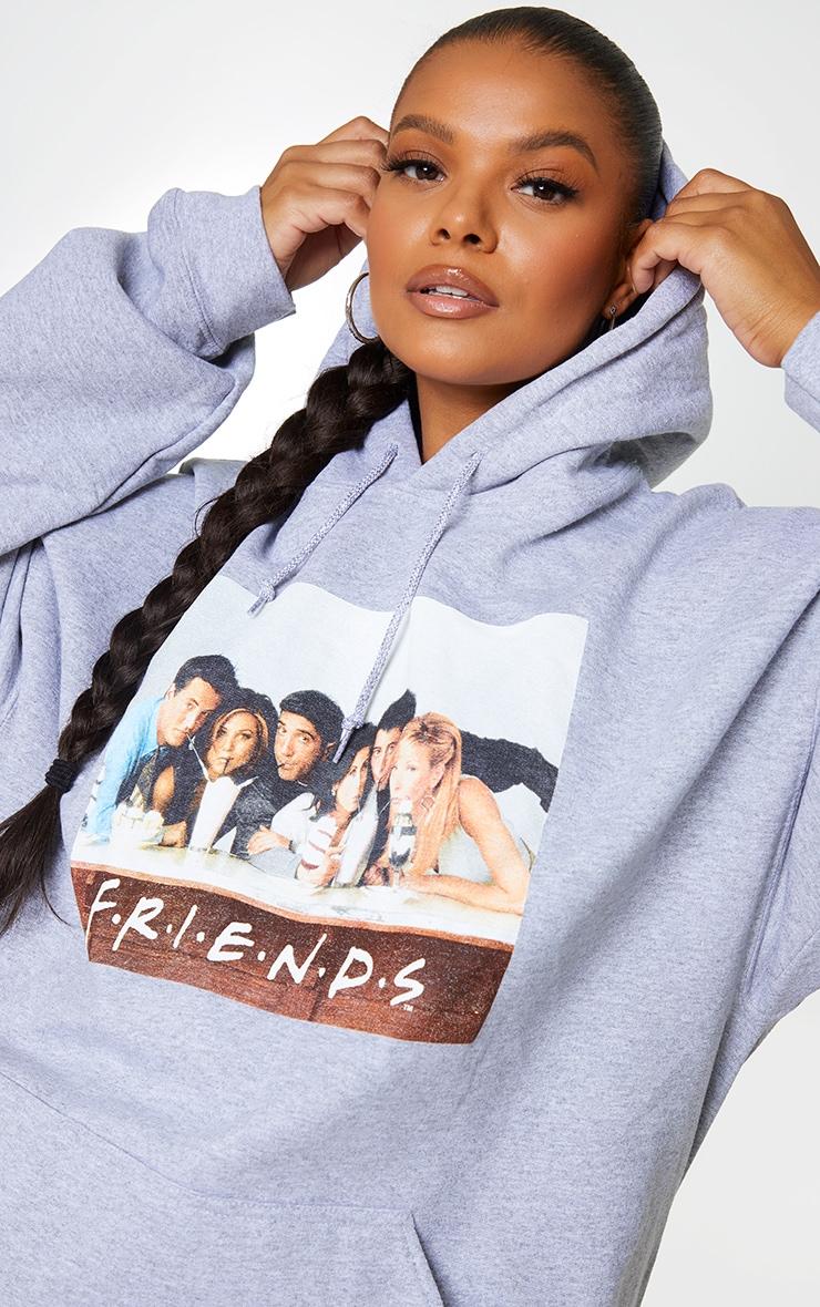 Plus Grey Friends Printed Hoodie 4