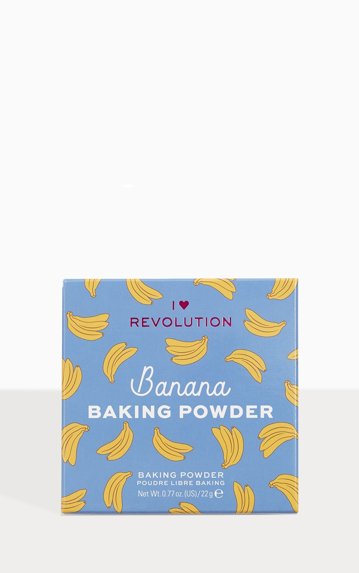 I Heart Revolution Loose Baking Powder Banana 1