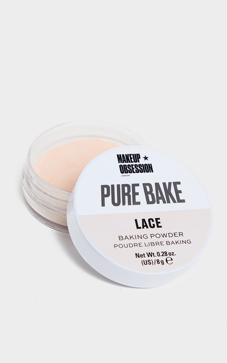 Makeup Obsession Pure Bake Baking Powder Lace 2