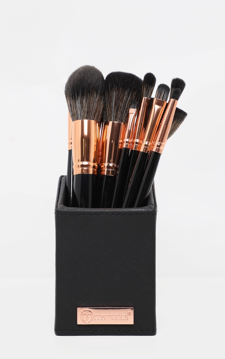 BH Cosmetics Signature Rose Gold 13 Piece Brush Set 3