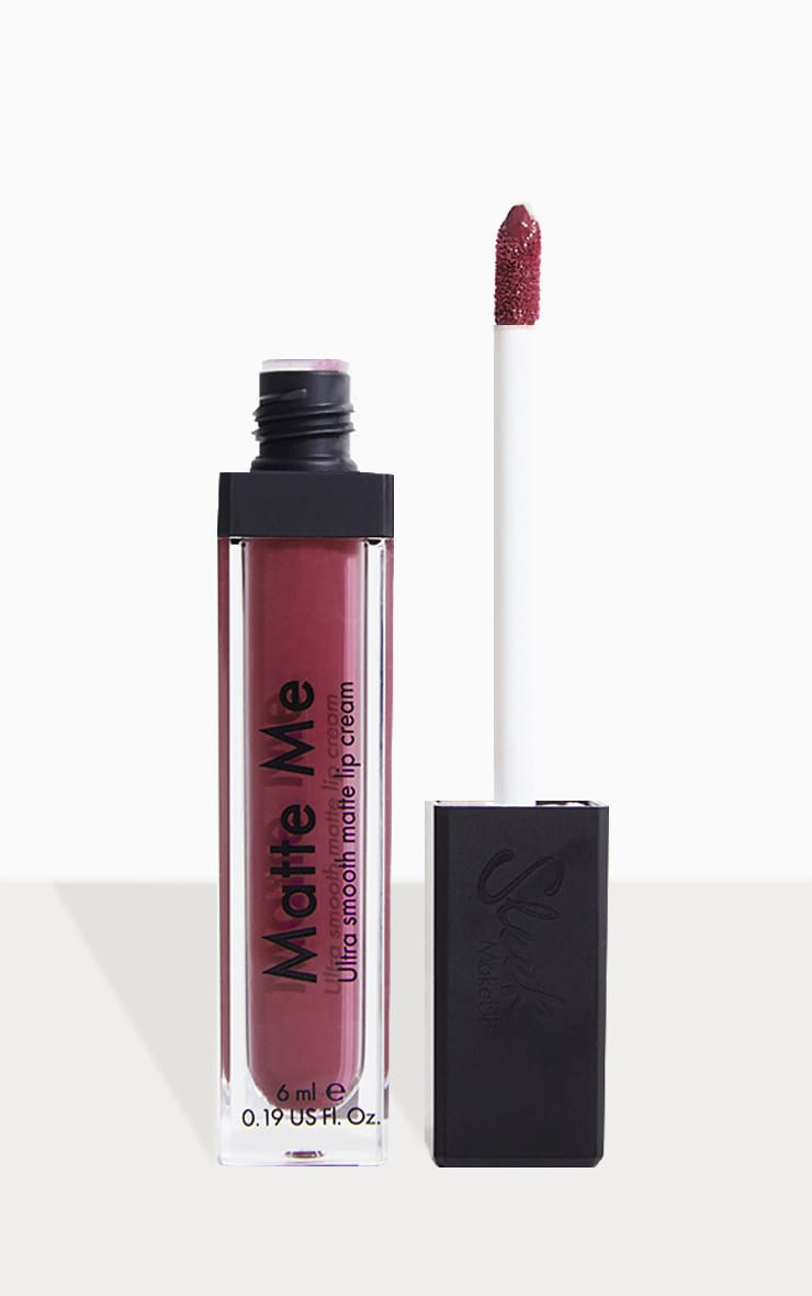 Sleek MakeUP Velvet Slipper Matte Me Liquid Lipstick 1
