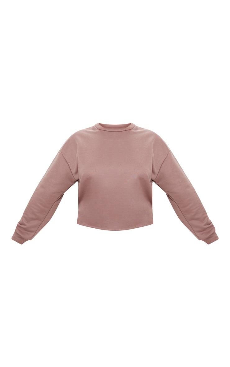 Plus Dark Mauve Sweater 3