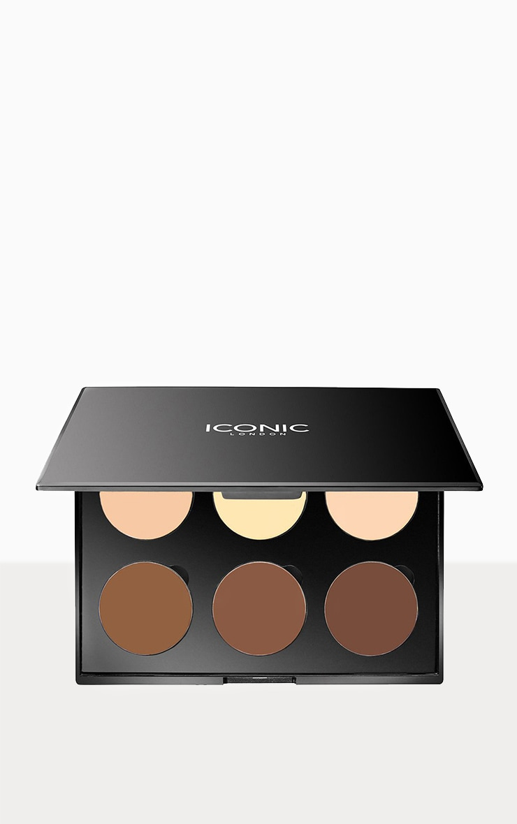 Iconic London Multi Use Cream Contour Palette 4