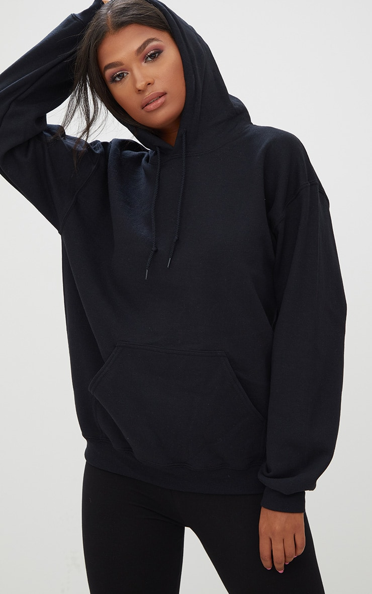 Black Ultimate Oversized Hoodie