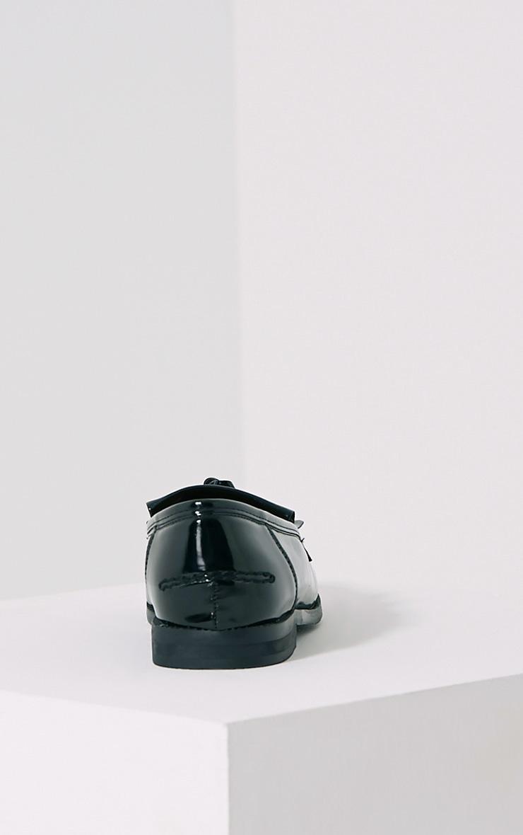 Trella Black Patent Loafers 5