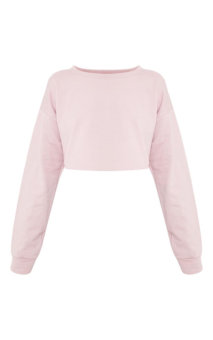 Beau Lilac Unicorn Applique Cut Off Sweater 3