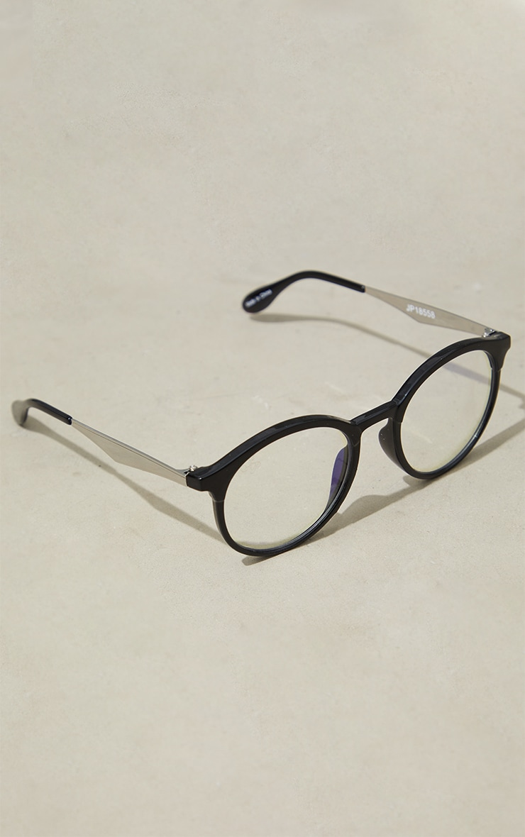 Jeepers Peepers Black Roundframe Readers 2