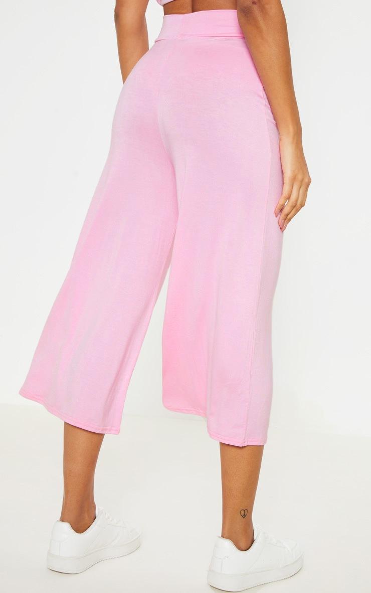 Pale Pink Basic Culotte 4