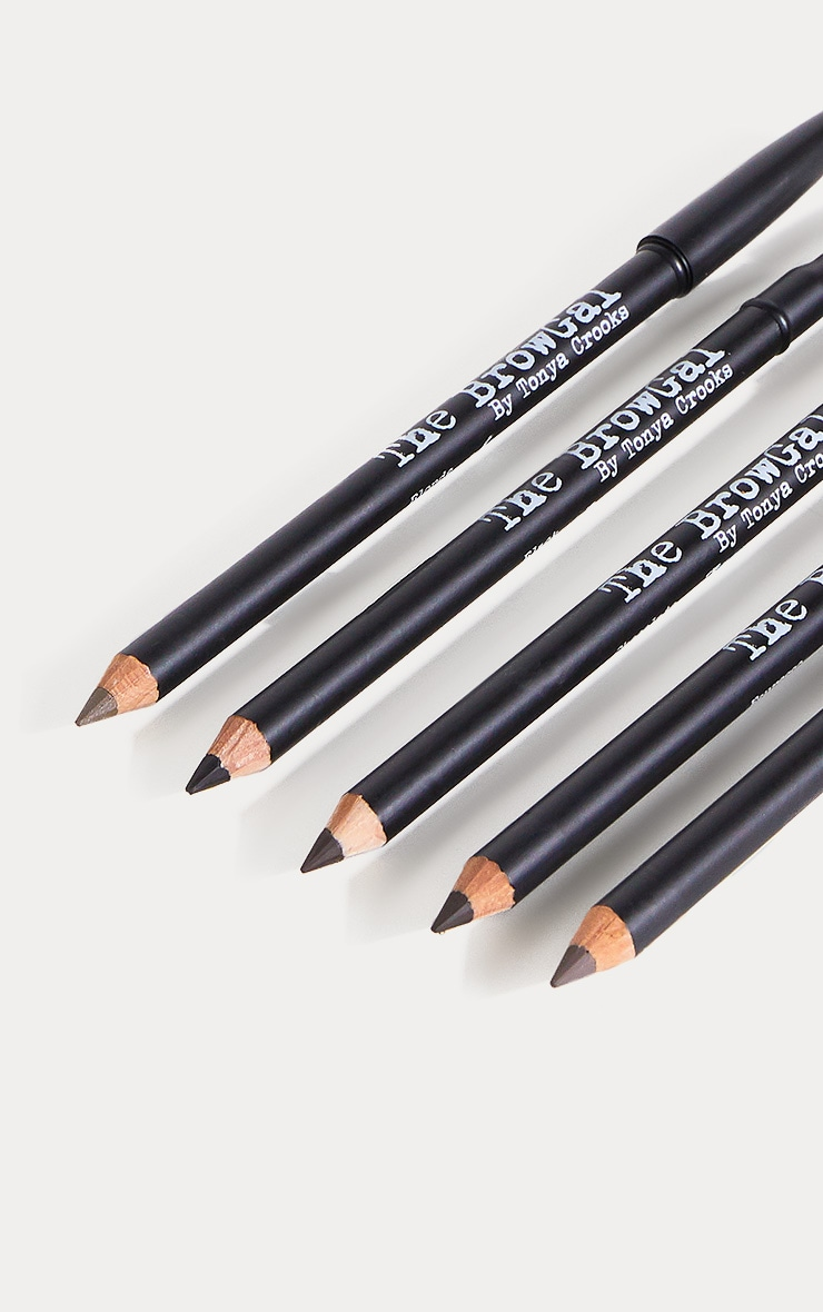 The BrowGal Skinny Eyebrow Pencil 02 Espresso 4