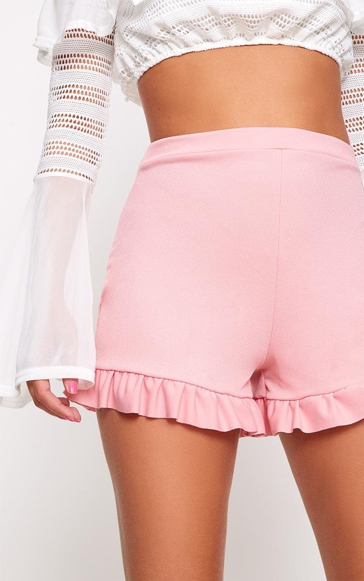 Rose Frill Hem Shorts  6