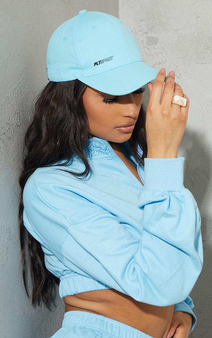 PRETTYLITTLETHING Blue Sports Cap 1