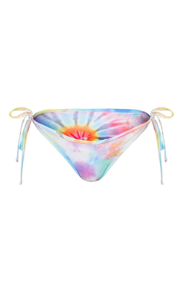 Multi Tie Dye Brazilian Bikini Bottom 3