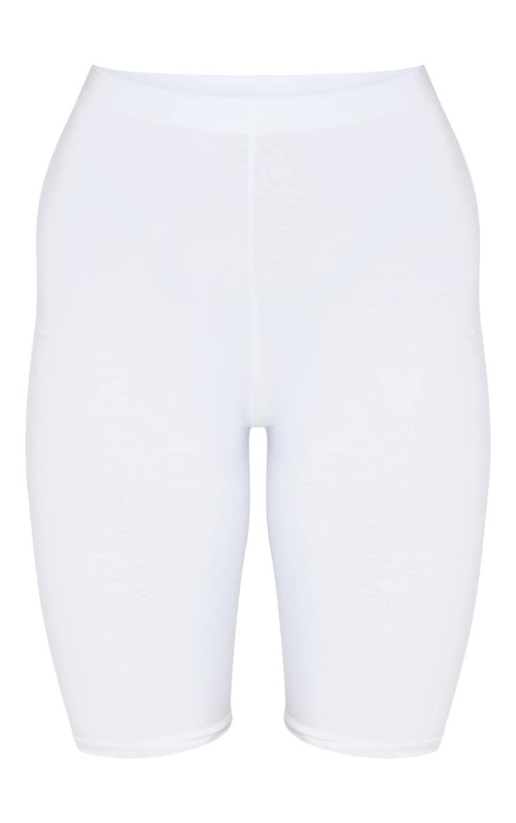 Short-legging slinky long blanc 6